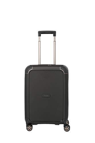 """TITAN """"COMPAX""""-Trolleys von TITAN®: stabile Hartschalen-Koffer in futuristischer Optik in 3 Farben Koffer, 55 cm, 43 Liter, Black"""