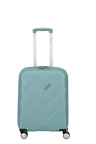 """Travelite Hartschalen-Koffer-Serie """"KALISTO"""" von travelite in 4 Farben: topmodisch, elegant, robust, 55 cm, 40L, Aqua"""