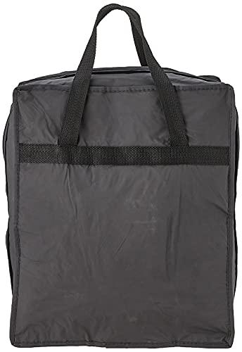 Rayen 6337.50 - Schuhtasche, schwarzer Auβenstoff, transparente Innenfächer, ideal für Reisen
