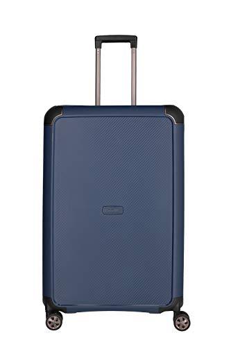 """TITAN """"COMPAX""""-Trolleys von TITAN®: stabile Hartschalen-Koffer in futuristischer Optik in 3 Farben Koffer, 77 cm, 104 Liter, Navy"""