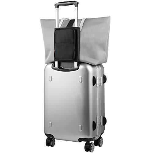 FOREGOER Leichte Reisetasche Handgepäck mit Gurten Kofferzubehör mit Verstellbarem Gurt für die Tragetasche