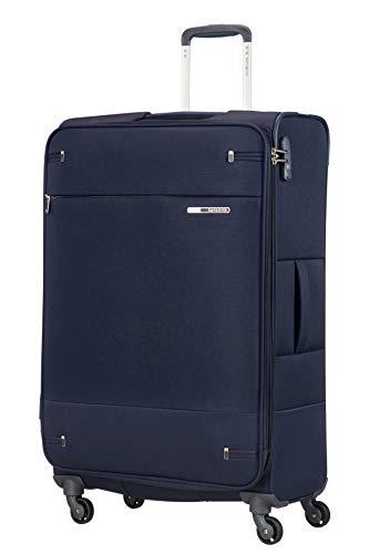 Samsonite Base Boost - Spinner L Erweiterbar Koffer, 78 cm, 105/112,5 L, Blau (Navy Blue)
