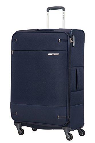 Samsonite Base Boost - Spinner L Erweiterbar Koffer, 78 cm, 105/112.5 L, Blau (Navy Blue)