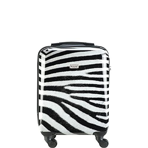 Princess Traveller Animal Cabin Trolley S Zebra