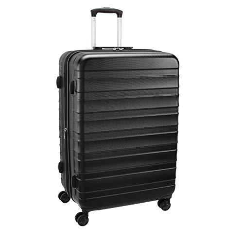 AmazonBasics – Premium-Hartschalenkoffer, robust, 78 cm, schwarz