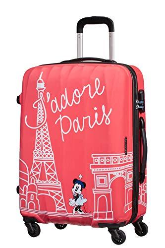 American Tourister Disney Legends - Spinner M - Kindergepäck, 65 cm, 62,5 L, rosa (Take Me Away Minnie Paris)