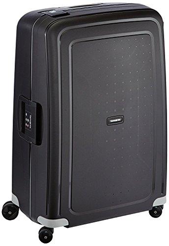 Samsonite S'Cure - Spinner L Koffer, 75 cm, 102 L, schwarz (black)