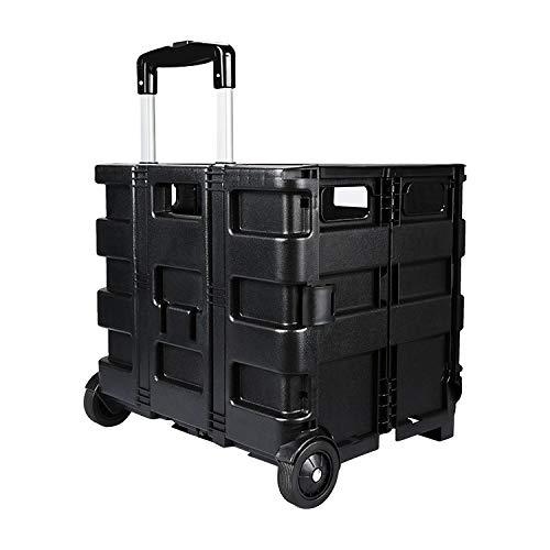 Auto Aufbewahrungsbox Tasche, Übergroße Aufbewahrungsbo Multifunktionales Folding Auto Lagerung Reserve Box Pull-Rod-Box, geeignet for die meisten Autos