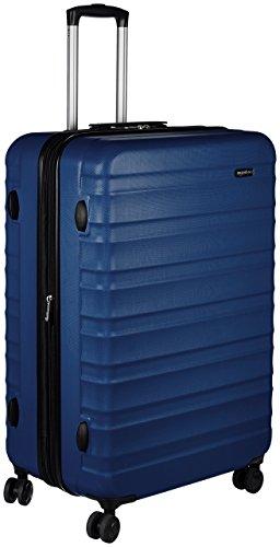 Amazon Basics Hartschalen - Koffer - 78 cm, Marineblau
