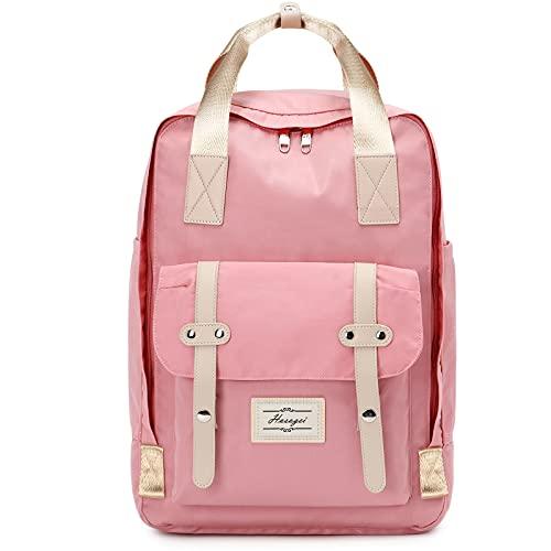 HASAGEI Rucksack Herren Damen Handgepäck Groß Rucksäcke, Elegant Schulrucksack mit 15,6 Zoll Laptopfach, Modern Wasserdicht Daypack Teenager Schultasche, Backpack für Schule Travel Wandern Arbeit