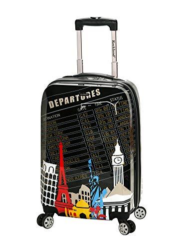 Rockland Departure Hartschalen-Koffer-Set mit Spinnrolle