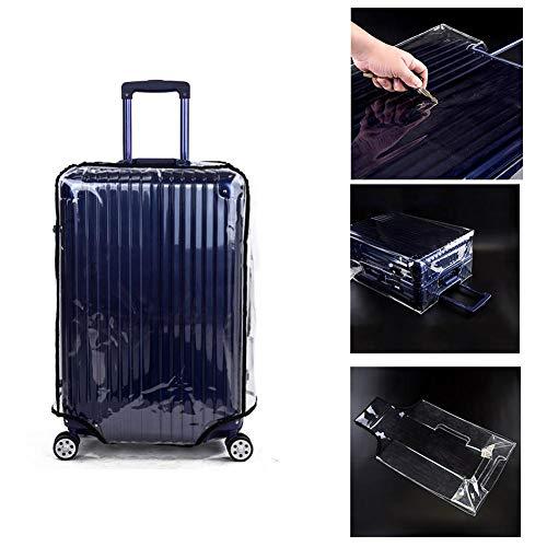 XUWLM Transparenter PVC-Gepäckraumabdeckung wasserdicht, staubdicht und Kratzfeste Abdeckung 20-30 Zoll Trolley, Reisegepäck-Schutzhülle für den täglichen Gebrauch in Schulen
