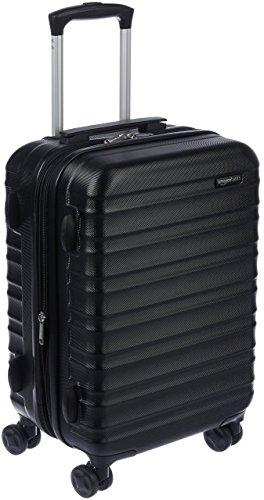 AmazonBasics Hartschalen - Koffer - 55 cm Handgepäckkoffer, Schwarz