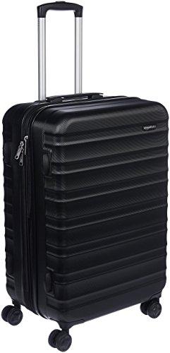 Amazon Basics Hartschalen - Koffer - 68 cm, Schwarz