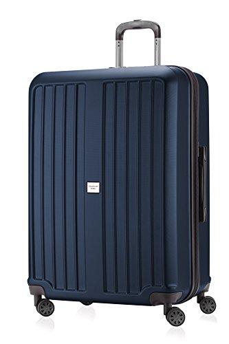 HAUPTSTADTKOFFER - X-Berg - Koffer Trolley Hartschalenkoffer, TSA, 75 cm, 128 Liter, Dunkelblau