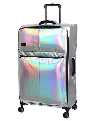 it Girl Spinner für Damen, 78 cm, holografisch, leicht, erweiterbar, Silber (Silber) - 12-225508-USA28-S808