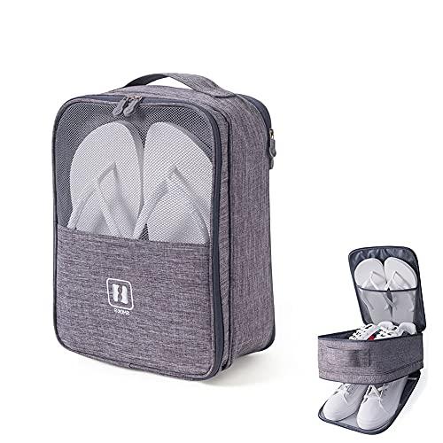 Schuhtasche für Reisen, tragbare und atmungsaktive Tragetasche für Fußballschuhe oder Golfschuhe, Schuhtasche für Fitnessstudio.