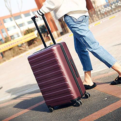 Handgepäck Hartschalenkoffer Gepäck Universal Wheel Trolley Koffer Abs Pc Trolley Koffer Boarding Koffer Trolley Koffer Passwort Gepäck Mode Koffer Leichter Gepäckkoffer